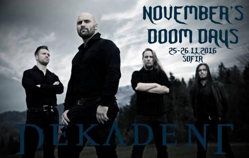 November's Doom Days - Dekadent