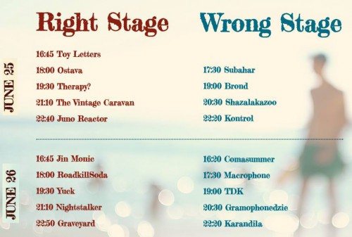 Wrong Fest 2016 line up