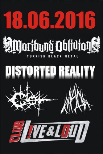 Poster Moribund Oblivion Distorted Reality Clot Klada