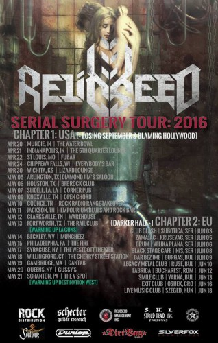 relicseed serial surgery tour 2016