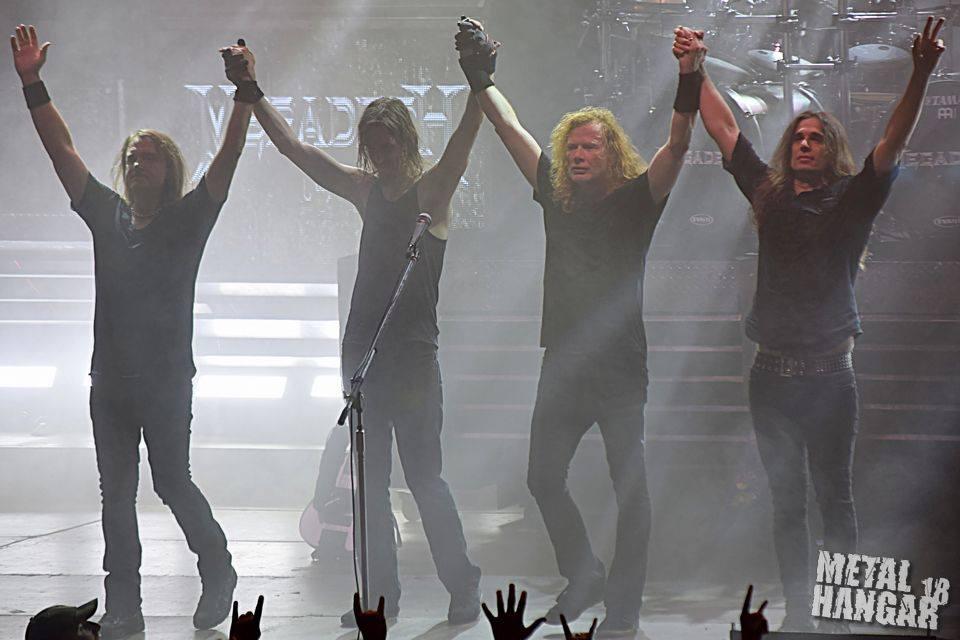 Megadeth @Universiada Hall