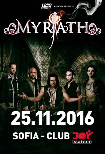 Myrath@ Joy Station, Sofia