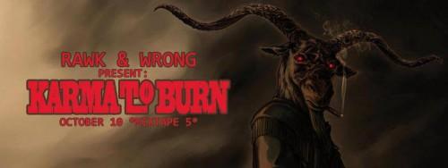 karma to burn live 2016
