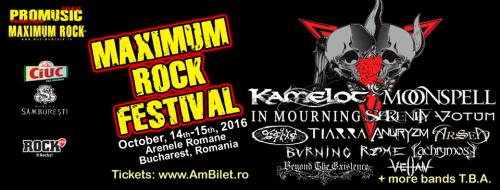 velian @ maximum rock fest 2016