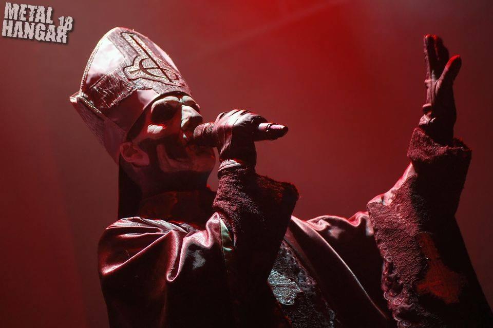Ghost @ Arena Armeec (16 June 2014, Iron Maiden support)
