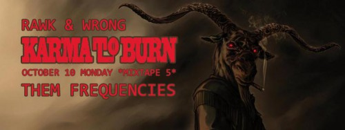 Karma To Burn Cover Poster