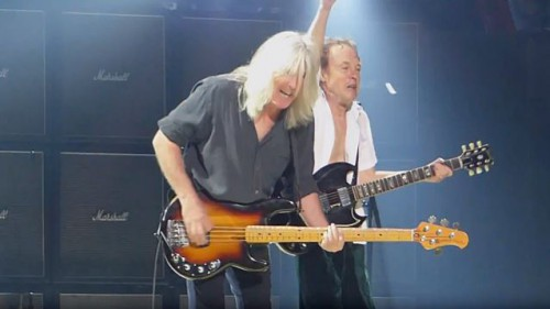 cliff williams angus young philly2016 AC DC