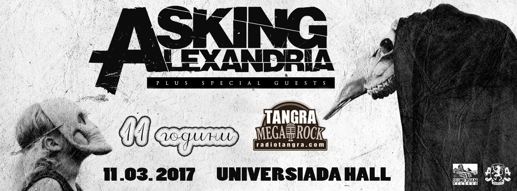 Asking Alexandria @ Universiada Hall (TMR11BD)