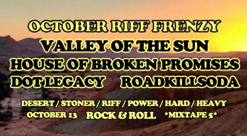 October Riff Frenzy