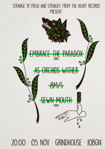 embrace the paradox green-poster