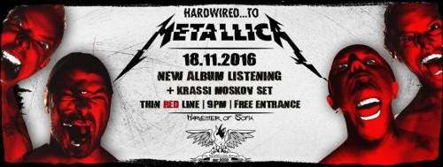 Metallica thin red