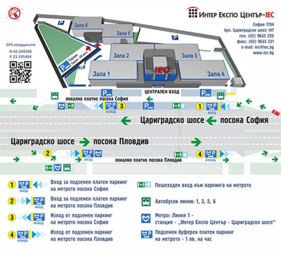 IEC Transport map