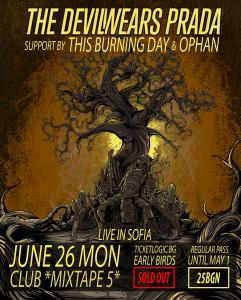 Последни подробности за концерта на The Devil Wears Prada