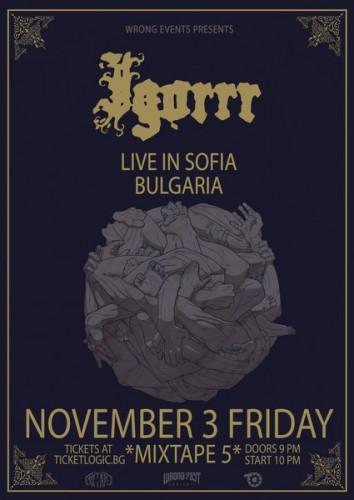 Igorrr 03.11 Sofia Bulgaria