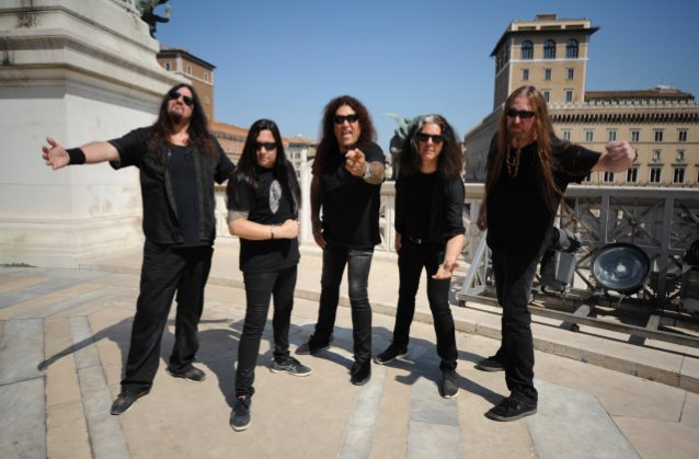 ROME, ITALY- JULY 27 ,2016: Testament photographed in Rome, Italy on July 27, 2016. © Gene Ambo