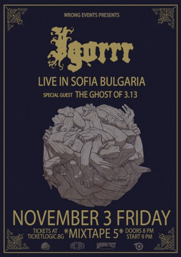 Igorrr + The Ghost of 3.13 Smacked