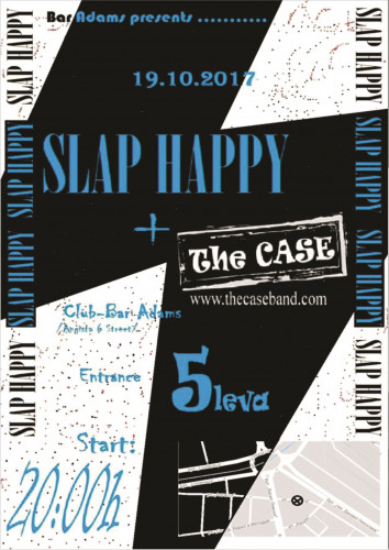 SLAP HAPPYY-THE CASE