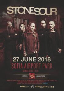 Stone Sour Poster Sofia