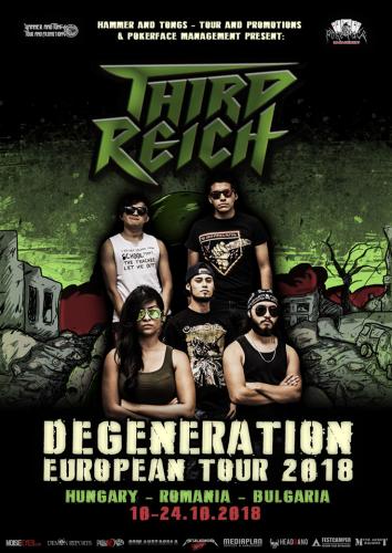 THIRD REICH tour2018
