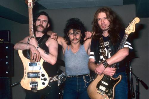 motorhead - RIP lemmy eddie, philty