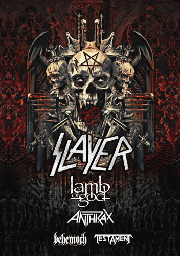 slayer tour 2018
