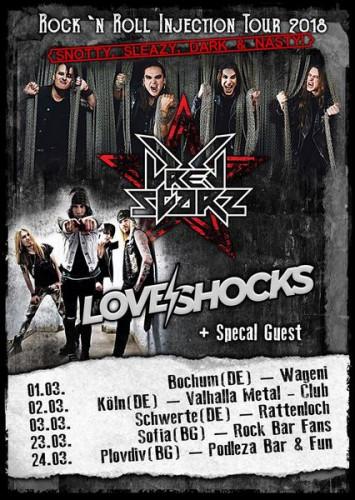 DREG Tour Poster