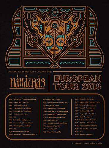 NAXATRAS tour2018