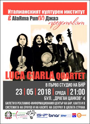 PLAKAT_Luvca_Ciarla_Quartet