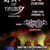 Day Of Execution & Distorted Reality poster Sofia 23.06.2018