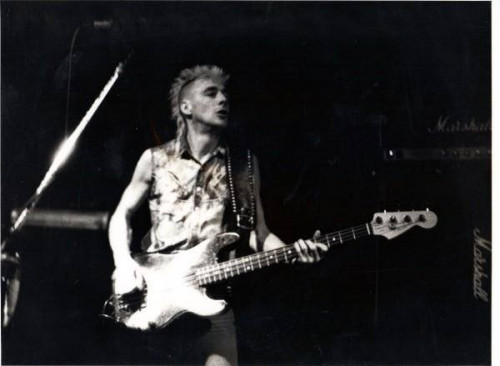 Wayne Tyas - bass (THE EXPLOITED