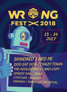 wrong fest 2018 - отмяна