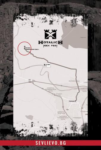 Хоталич карта