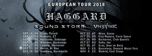 haggard tour 2018