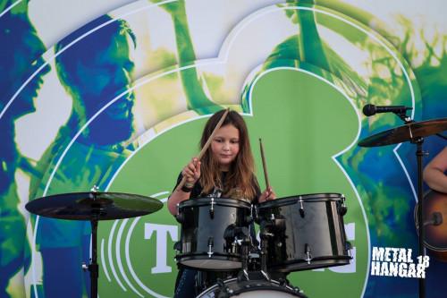 Drum kid at Varna Mega Rock
