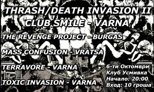 Thrash-Death Invasion in Varna
