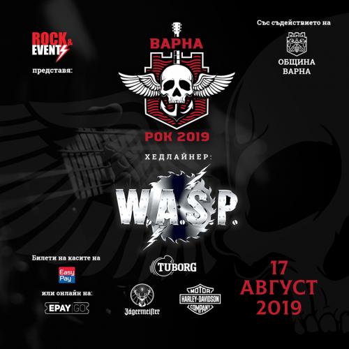 wasp - varna rock2019
