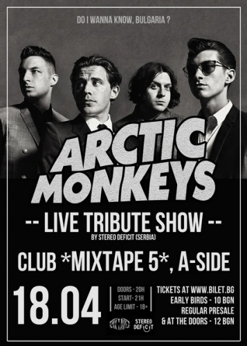 Arctic Monkeys Tribute poster