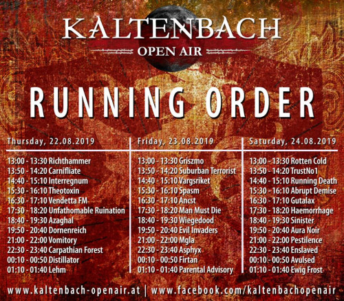 Kaltenbach 2019 program
