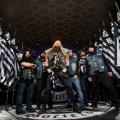 Horns Up Rocks Black Label Society Unblackened Los Angeles California Group Shot