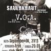 sauerkraut voa clot poster