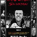 Lars Ulrich 50th birthday 3 poster