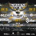 Kavarna Rock 2014 Plakat line up