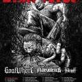 goatwhore malevolence fallujah tour 2014
