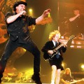 Concert of AC/DC. Stiff Upper Lip Rotates Concert of AC/DC. Stiff Upper Lip Rotates
