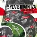 5 years Oratniza Poster