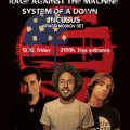 Rage Against the Machine, System of a Down & Incubus Night