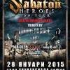 SABATON Warm UP Party II POSTER