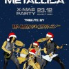 HAMMERHEAD(BG) - Metallica XMas party poster