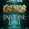 SOFIA METAL FEST 2016_2 headliners kreator paradise lost POSTER