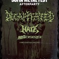 DECAPITATED, HATE, THY DISEASE Poster BG-1